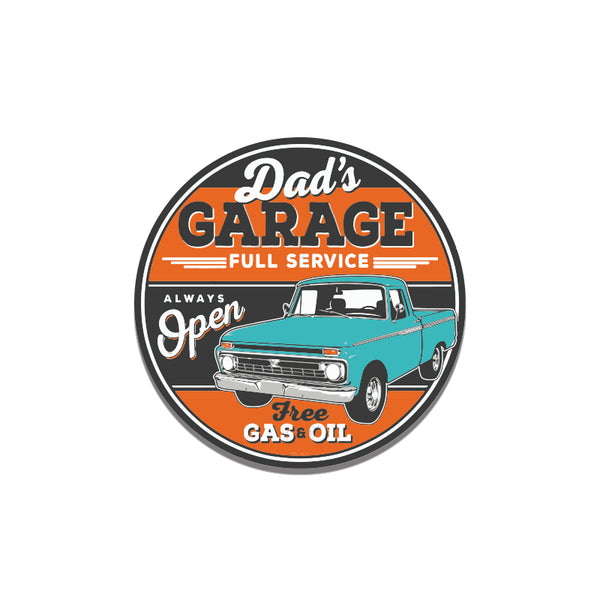 Dads Garage2 Sticker