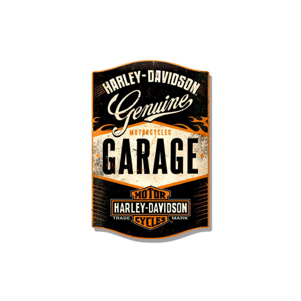 Harley Davidson Garage Sticker