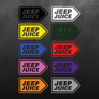 Jeep Juice Sticker