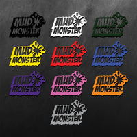 Mud Monster Sticker
