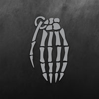 Grenade (Hand Skeleton) Sticker