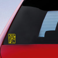 JDM Keep Drifting Fun Sticker