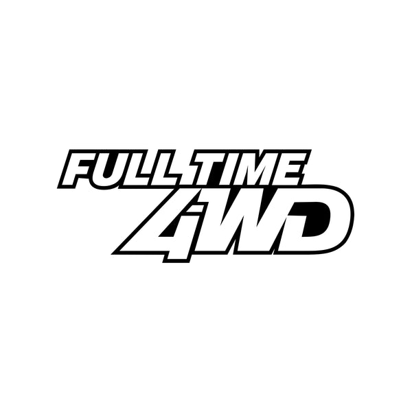 Full Time 4WD Sticker