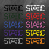 Static Chain Sticker