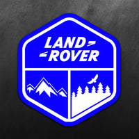 Land Rover Adventure Sticker