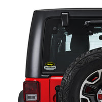 Off Road Experience JEEP Sticker