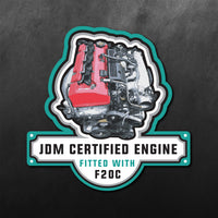 Honda F20c Engine JDM Sticker