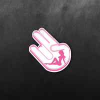 JDM Hand Girl Sticker