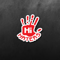 JDM Hi Haters Sticker