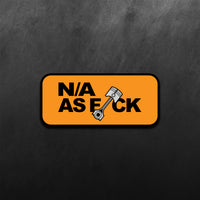N/A as f*ck Sticker