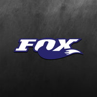Fox Logo Sticker