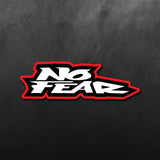 No Fear words Sticker