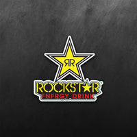 Rockstar Energy Drink Logo Sticker