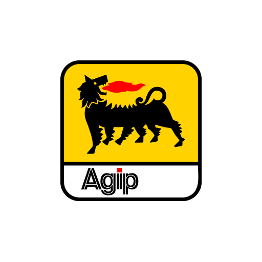 Agip Oil Sticker-0