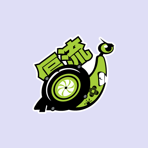 Caracol Turbo Japan Sticker-0