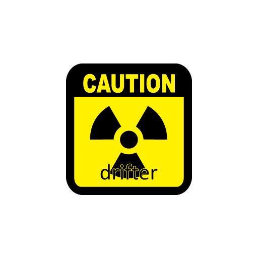 Caution Drifter Sticker-0