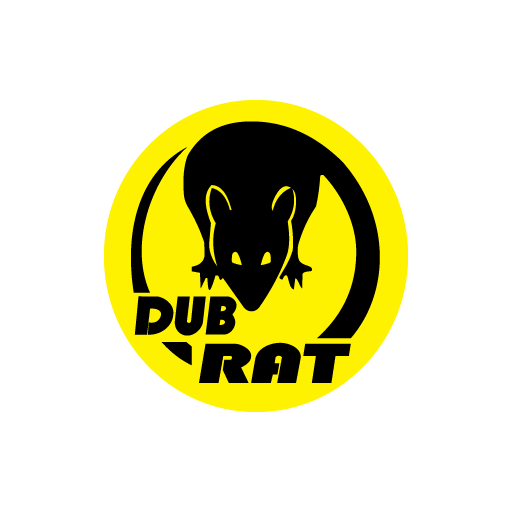 JDM Dup Rat Sticker-0
