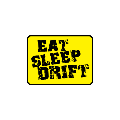 JDM Eat Sleep Drift Sticker-0