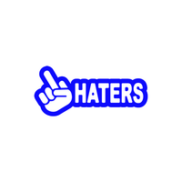 JDM Hand Haters Sticker-0