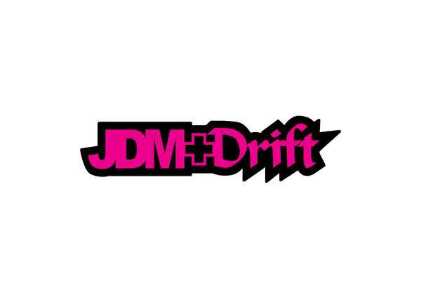 JDM + Drift Sticker-0