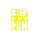 JDM Keep Drifting Fun Sticker-0