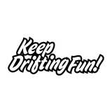 JDM Graffiti Keep Drifting Fun Sticker-0