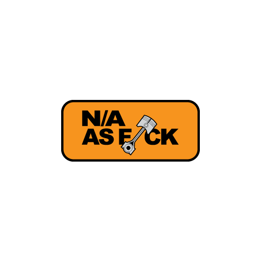 N/A as f*ck Sticker-0