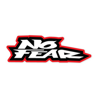 No Fear words Sticker-0