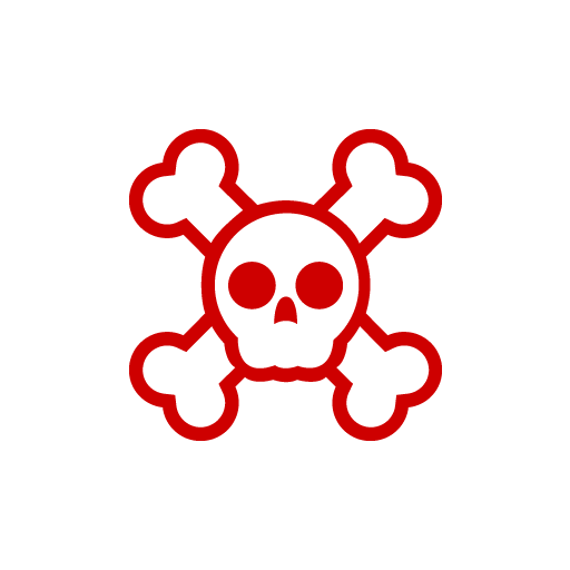 Skull Chubi Sticker-0