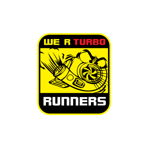 We R Turbo Runners Sticker-0
