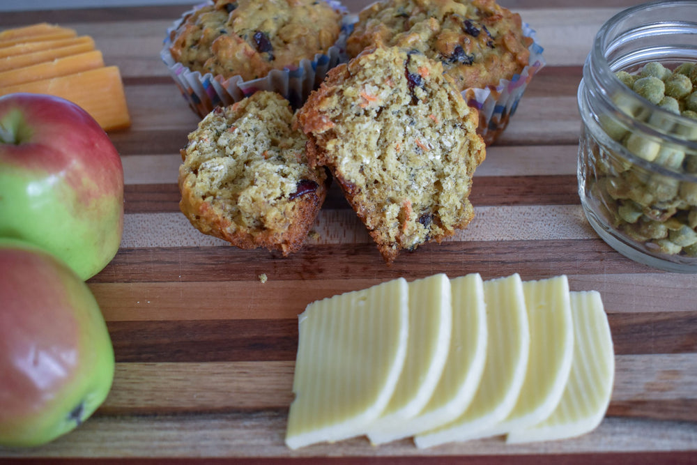Oat Carrot and Banana Power Muffin