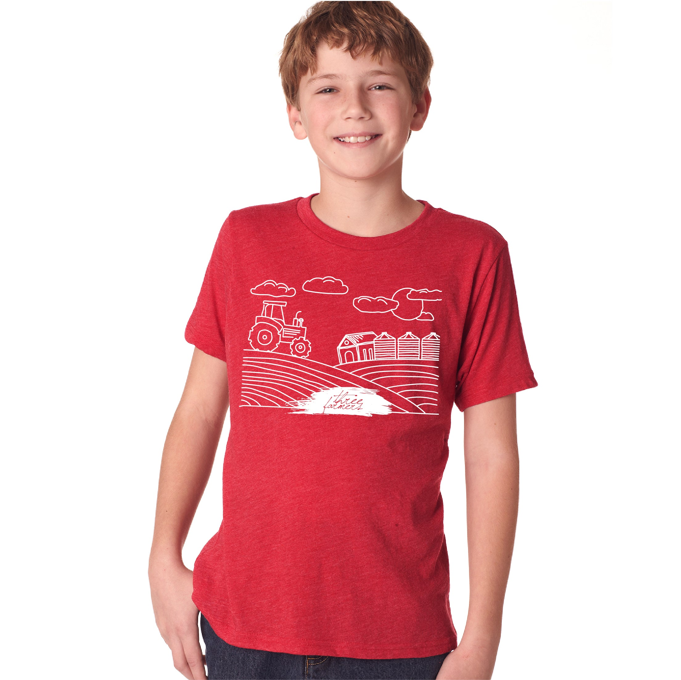 Limited Edition Youth Three Farmers T-Shirt