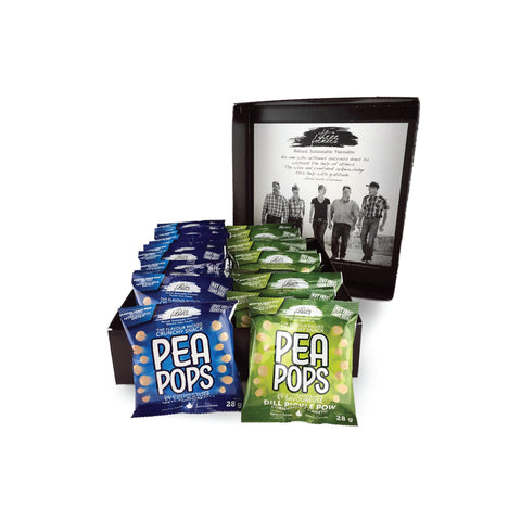 Pea Pops Duo Snack Packs
