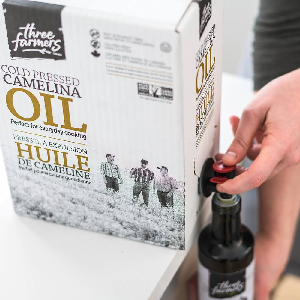Load image into Gallery viewer, Original Camelina Oil - Bag in a Box Bulk (5L)