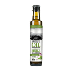 Roasted onion and basil camelina oil