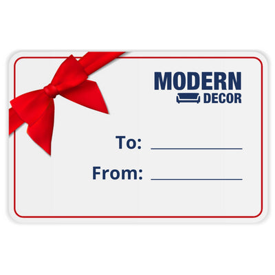 MODERN DECOR E-GIFT CARD