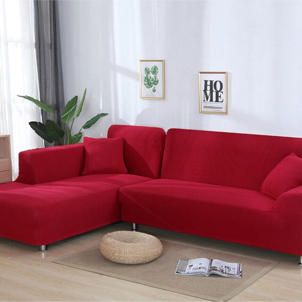 [THICK & Durable] SECTIONAL STRETCHABLE, SOFT, & WASHABLE SOFASLEEVE™