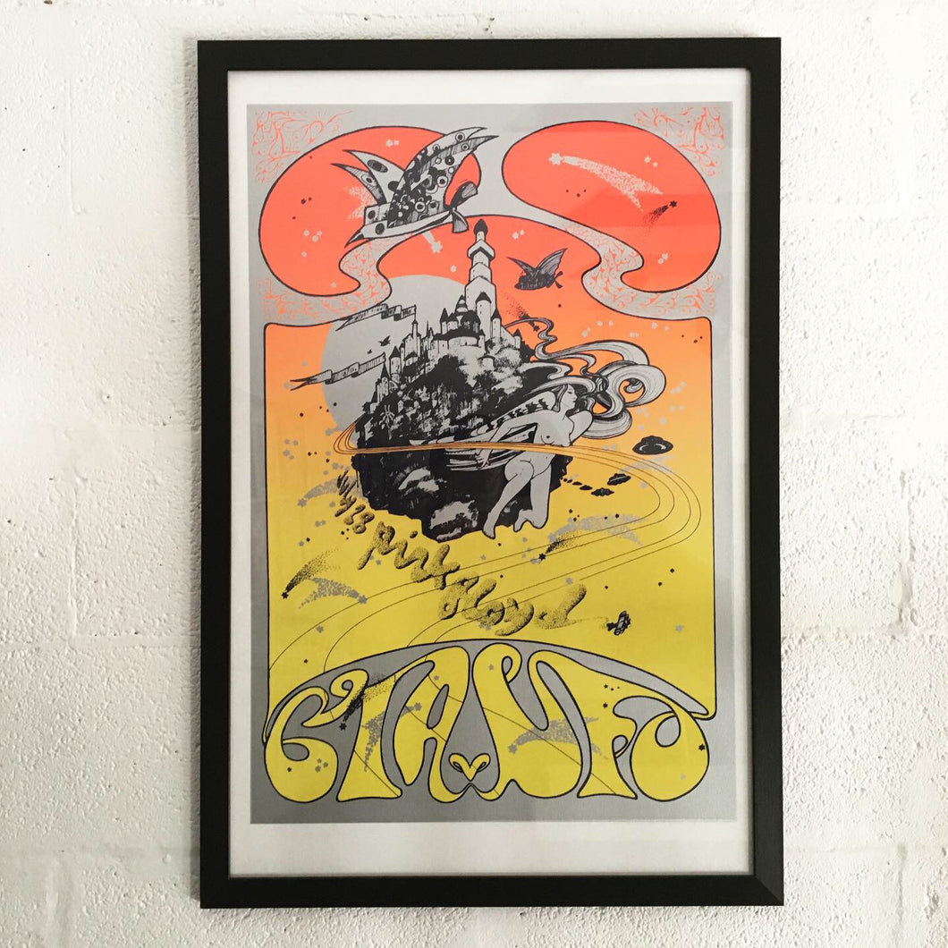 Pink Floyd CIA/UFO Club 1967 Limited Edition Screen Print