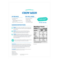 Street Kitchen Chinese Chow Mein Noodle Kit