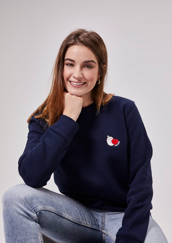 Molang Sweatshirt Unisex Apparel Kawaii