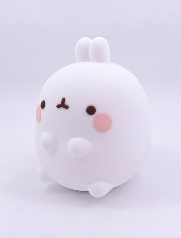 A cute Molang soft silicon kawaii mood lamp.