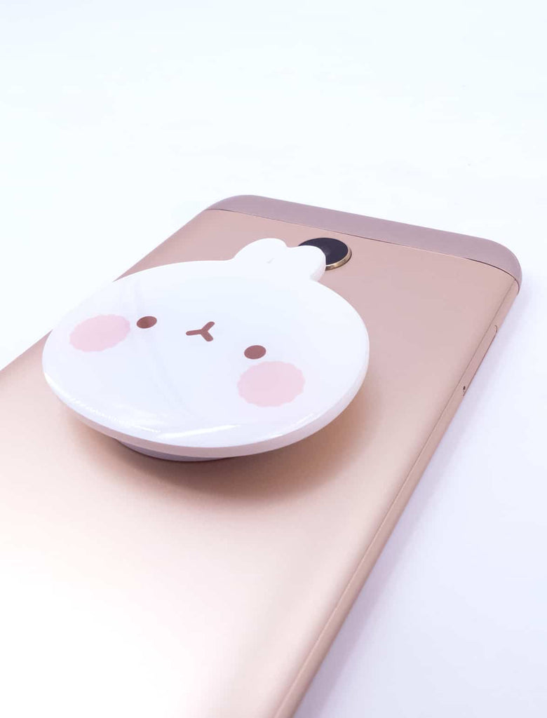 A cute Molang Smart Tok Brown