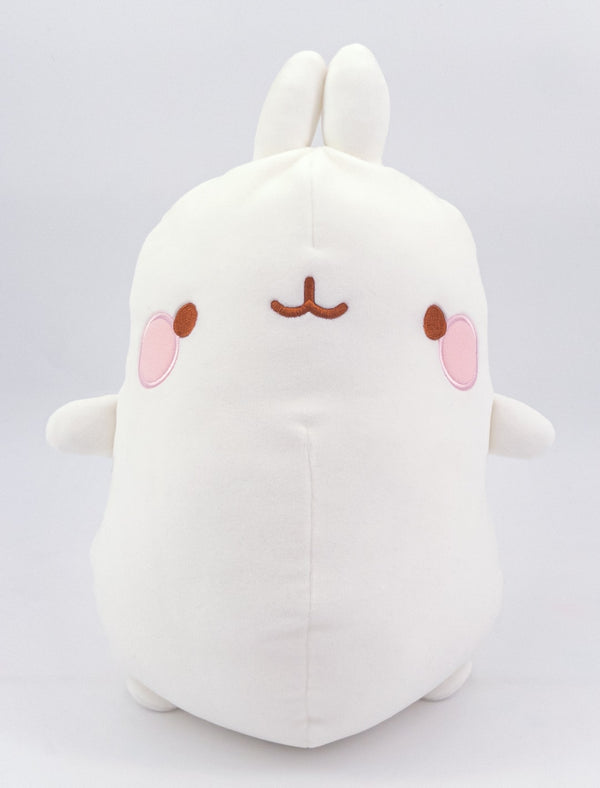 A cute Molang white Super Soft Plush