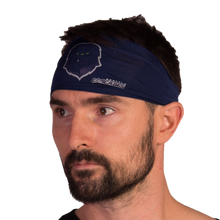 Load image into Gallery viewer, Cascades Navy Headband