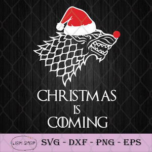 Christmas Is Coming SVG, Game Of Thrones SVG, Merry Christmas Clipart-SVGPrints