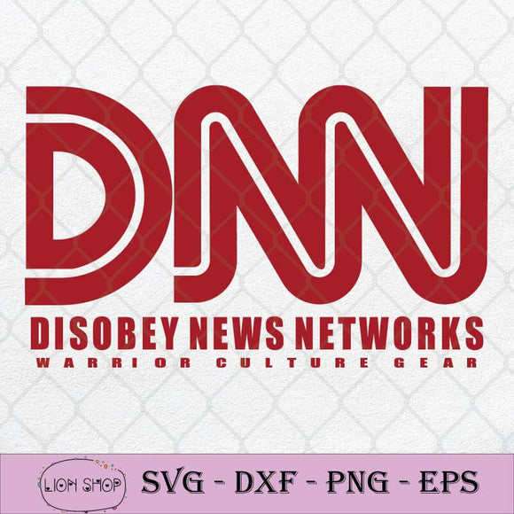 DNN Disobey News Networks Warrior Or Culture Gear SVG PNG Clipart-SVGPrints