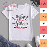Daddy's Little Huntin Buddy SVG PNG Clipart Digital Download - SVGPrints