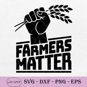 Farmers Matter SVG, Farm Lover SVG, Farmer SVG, Thank A Farmer SVG PNG DXF EPS-SVGPrints
