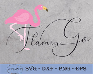 Flamingo SVG-Go Flamingo SVG PNG Clipart Digital Download - SVGPrints