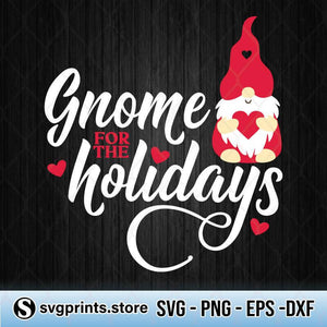 Gnome For The Holiday SVG, Gnome SVG-SVGPrints